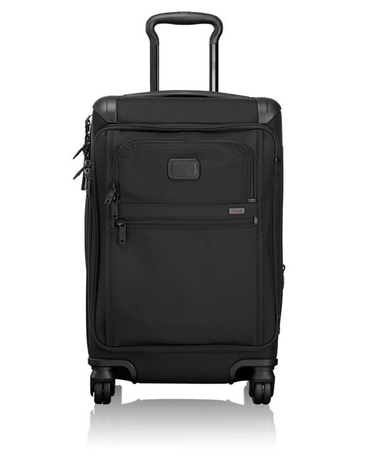 Front Lid International Carry-On in Black