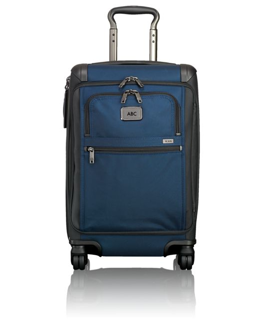Front Lid International Carry-On in Navy/Black