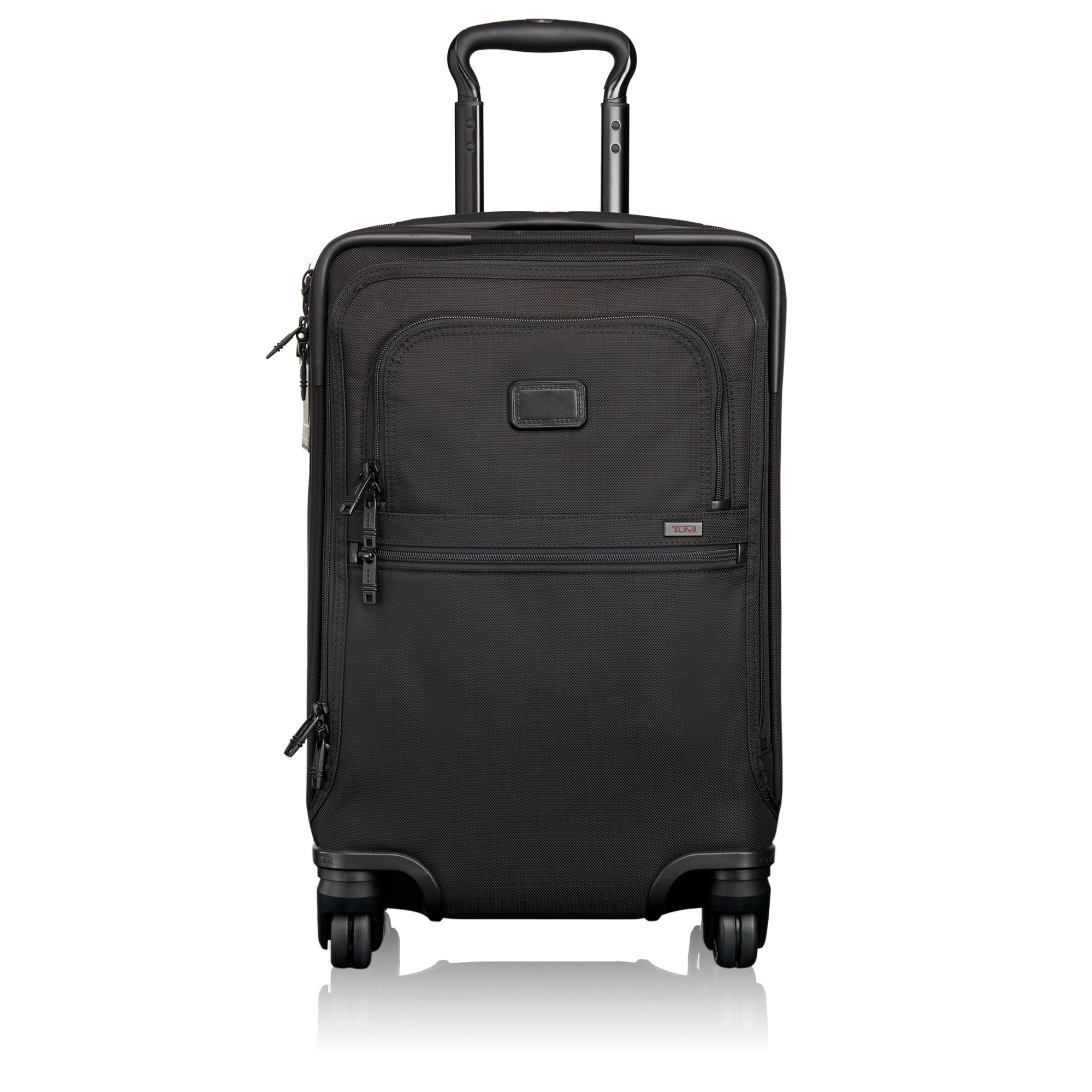 International 4 Wheeled Office Carry On In Black