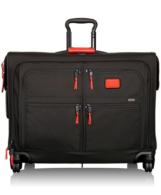 4 Wheeled Medium Trip Garment Bag in Cherry