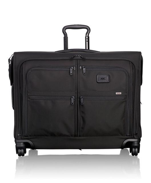 4 Wheeled Medium Trip Garment Bag in Black