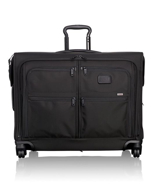 4 Wheeled Medium Trip Garment Bag in Black