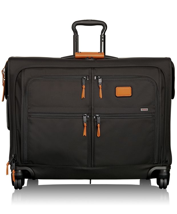 4 Wheeled Medium Trip Garment Bag in Tan