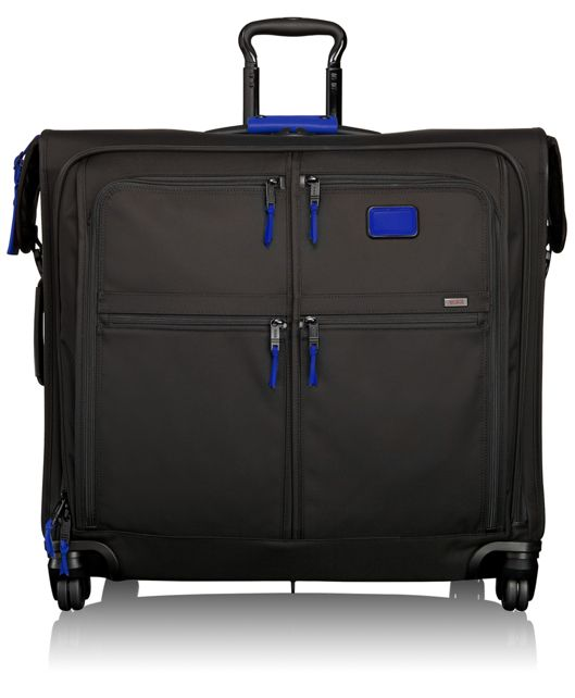 4 Wheeled Extended Trip Garment Bag in Atlantic