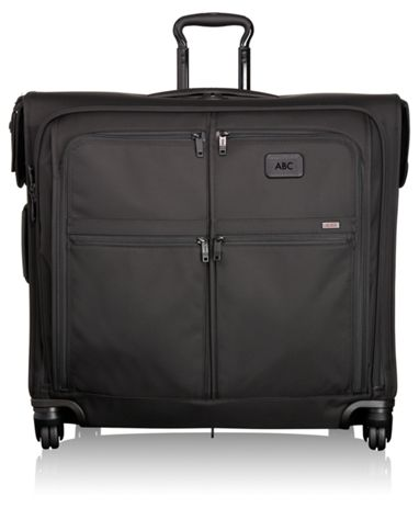 4 Wheeled Extended Trip Garment Bag Alpha 2 Tumi United States Black