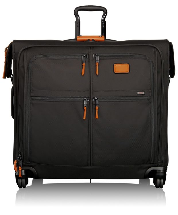 4 Wheeled Extended Trip Garment Bag in Tan