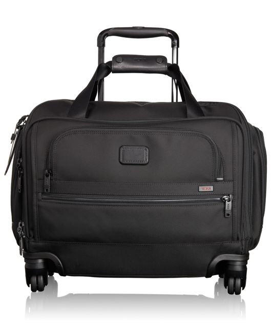 4 Wheeled Compact Duffel in Black