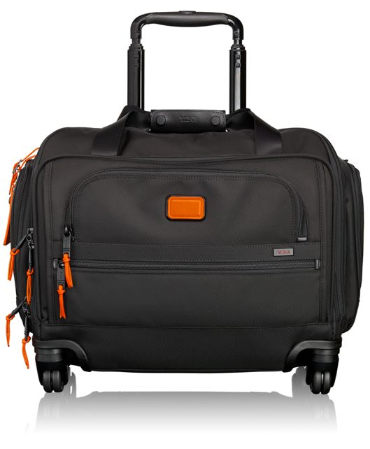 4 Wheeled Compact Duffel in Sunrise