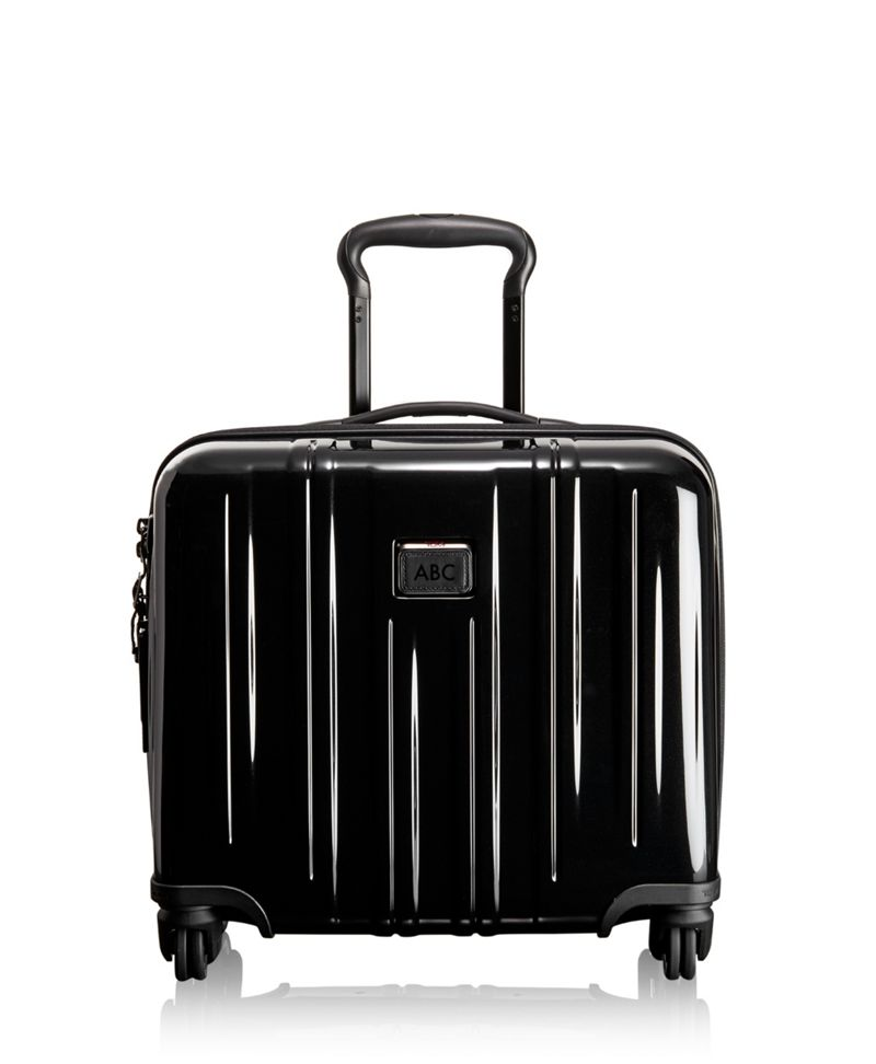Compact Carry-On 4 Wheeled Briefcase