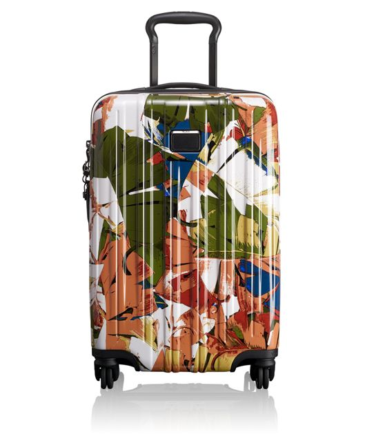 International Carry-On in Banana Leaf Print