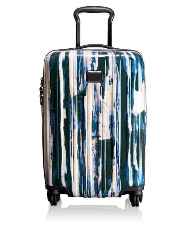 International Carry-On in Waterfall Stripe