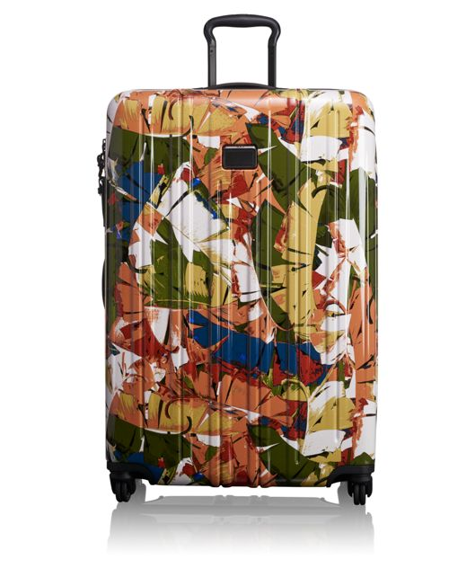 Extended Trip Packing Case in Banana Leaf Print