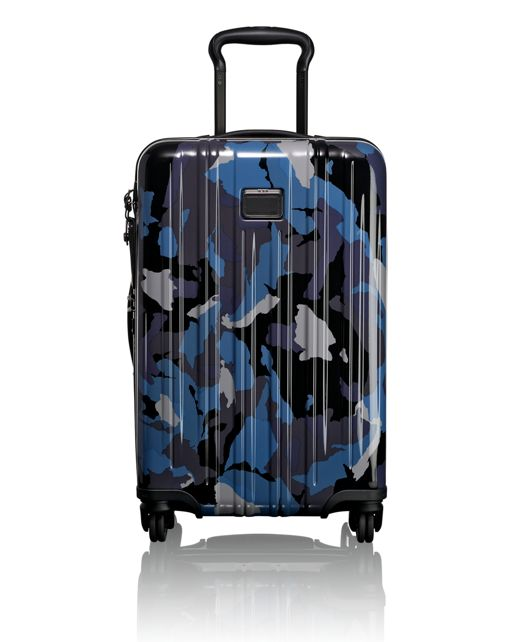 International Expandable Carry-On in Blue Camo