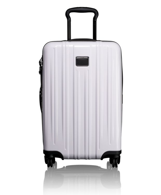 International Expandable Carry-On in White