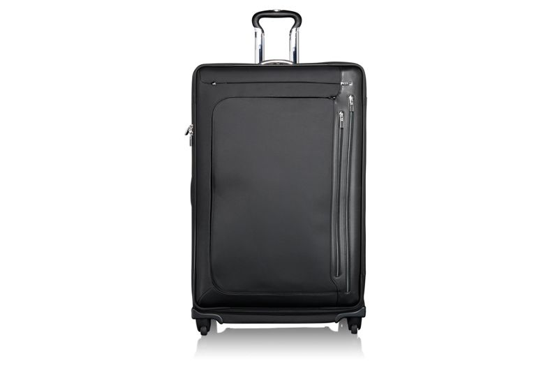 Zurich 4 Wheeled Expandable Fortnight Trip in Black