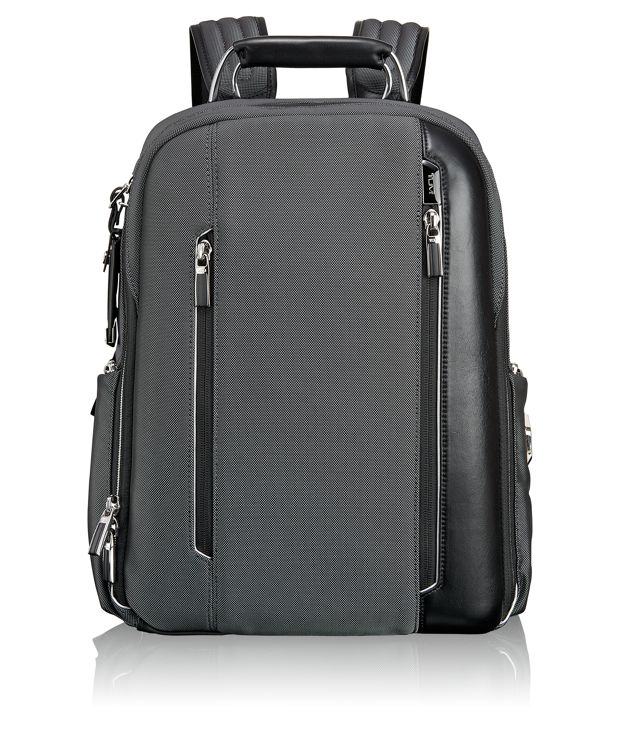 Logan Backpack in Pewter