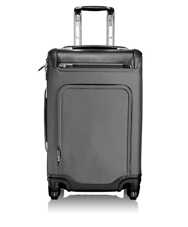 Julius International Expandable Carry-On in Pewter