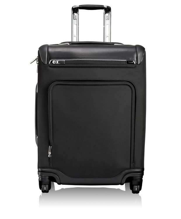 Raleigh Continental Expandable Carry-On in Black