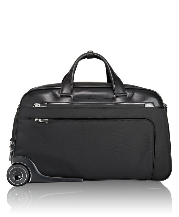 Rockford Wheeled Duffel in Black