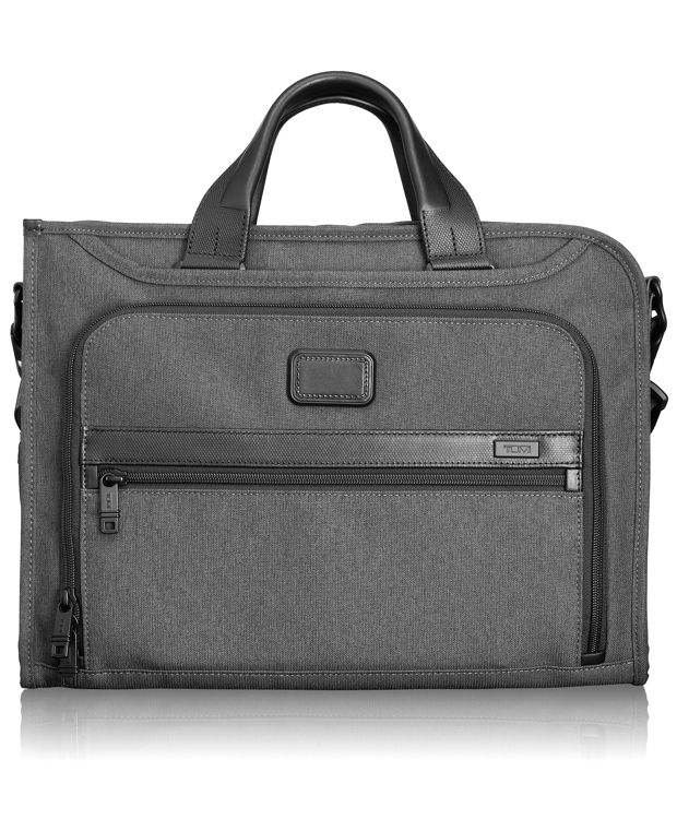 Slim Deluxe Portfolio in Anthracite