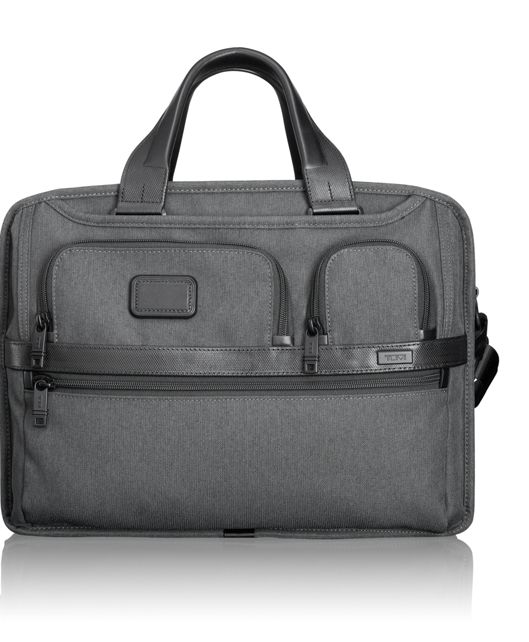Expandable Organizer Computer Brief in Anthracite