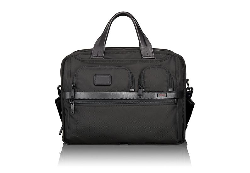Tumi T-Pass® Expandable Laptop Brief in Black