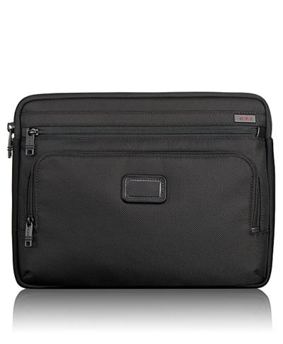 63e4b78bdc8ae Medium Laptop Cover - Alpha 2 - Tumi United States - Black