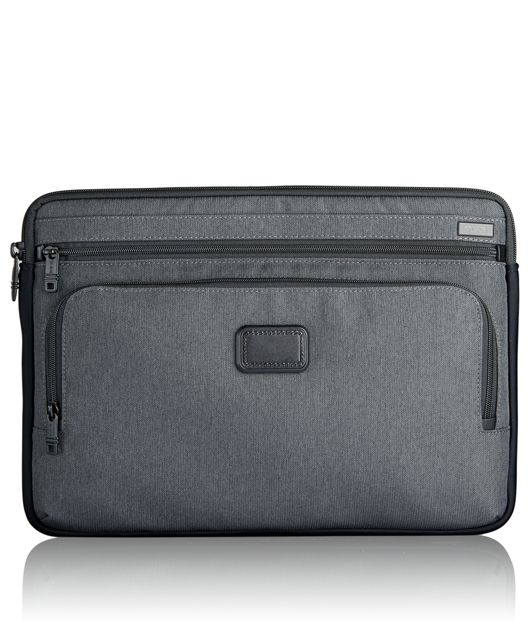 Large Laptop Cover in Anthracite