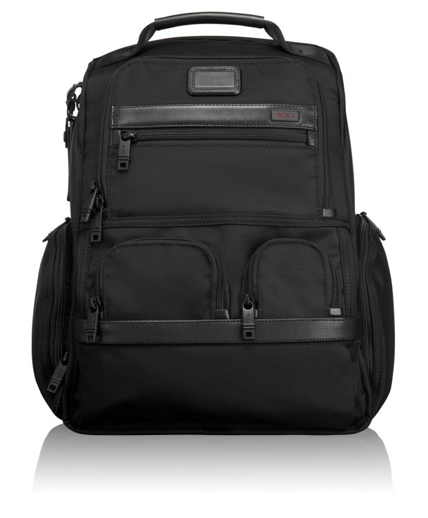 Compact Laptop Brief Pack® in Black