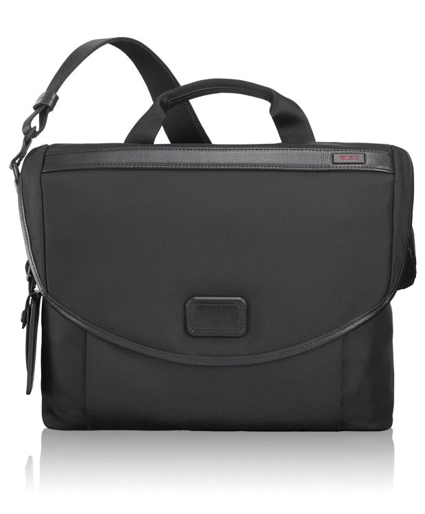 Slim Messenger in Black