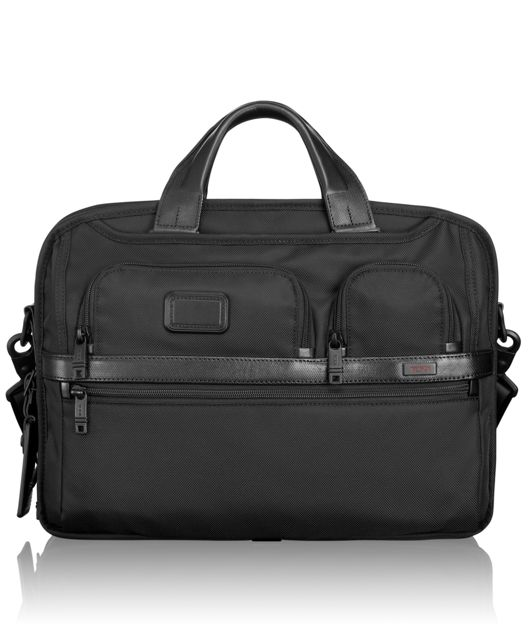 TUMI T-Pass® Medium Screen Laptop Slim Brief in Black