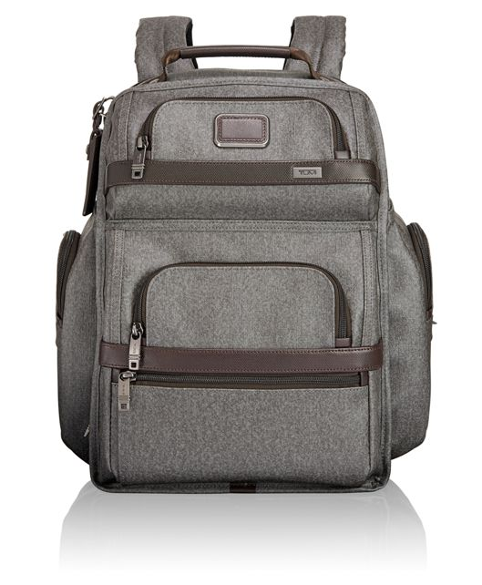 TUMI T-Pass® Business Class Brief Pack® in Earl Grey