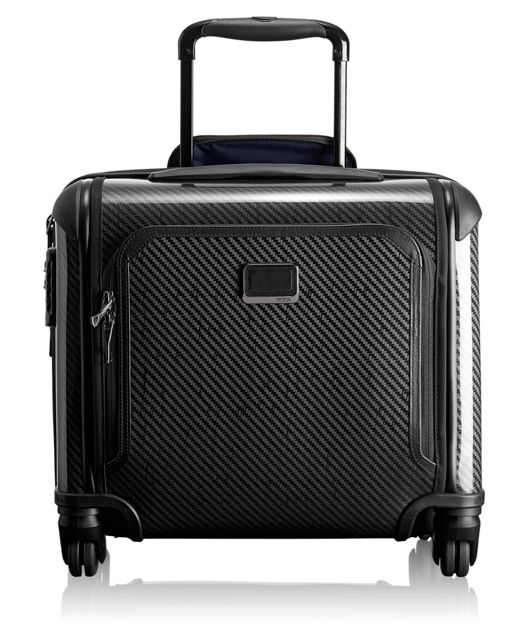 Tegra-Lite® Max Carry-On 4 Wheeled Briefcase in Black Graphite