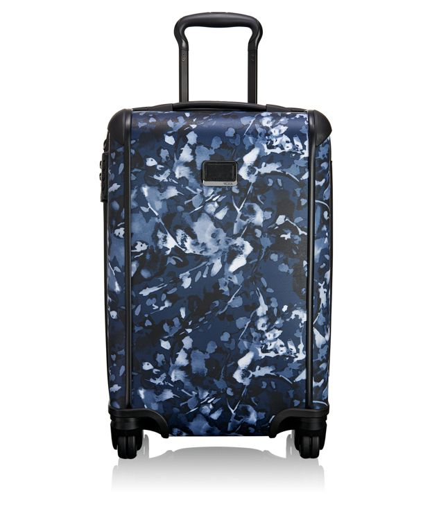 International Carry-On in Indigo Floral