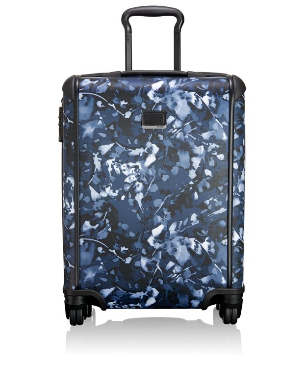 Continental Carry-On in Indigo Floral