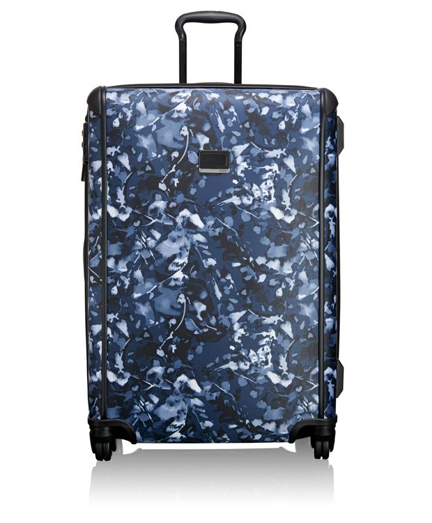 Large Trip Packing Case in INDIGO FLORAL