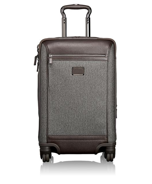 Osborne 4 Wheeled International Carry-On in Earl Grey