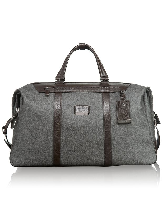 San Remo Soft Duffel in Earl Grey