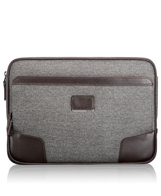 Medium Laptop Cover in Earl Grey