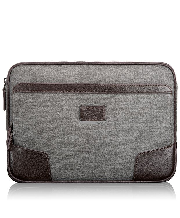 Large Laptop Cover in Earl Grey