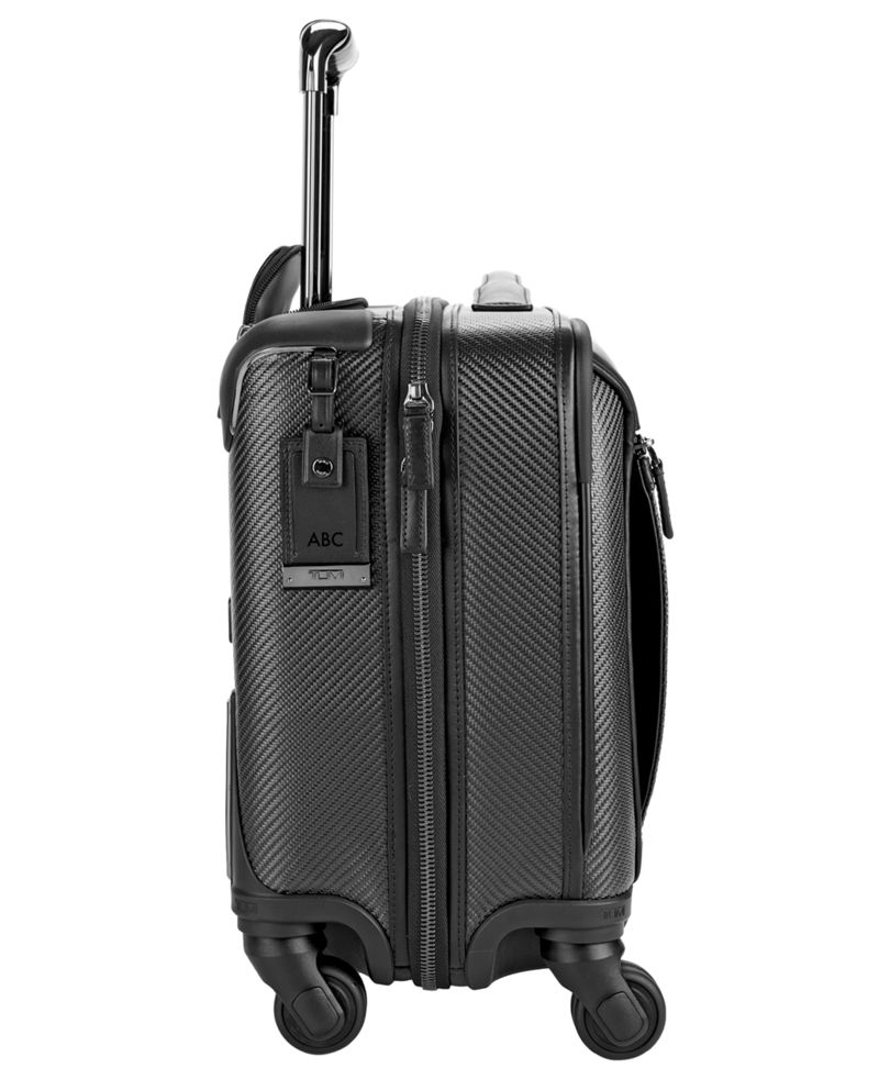 Carbon Fiber Valencia Compact Carry-On 4 Wheeled Briefcase - CFX ...