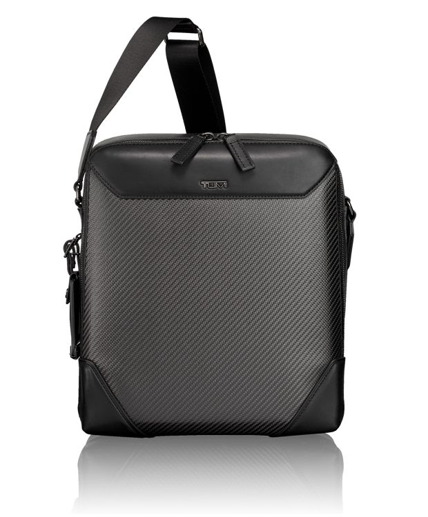 Carbon Fiber Jefferson Crossbody in Carbon