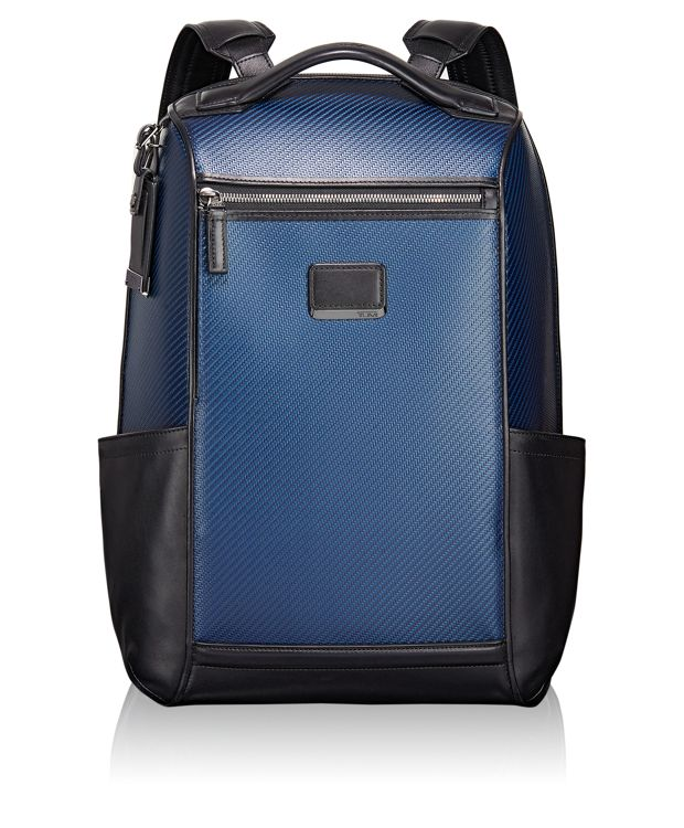 Carbon Fiber Watkins Backpack in Navy