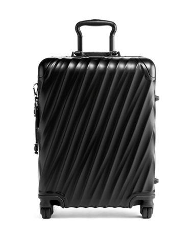 Continental Carry-On - 19 Degree Aluminum - Tumi United States - Matte Black