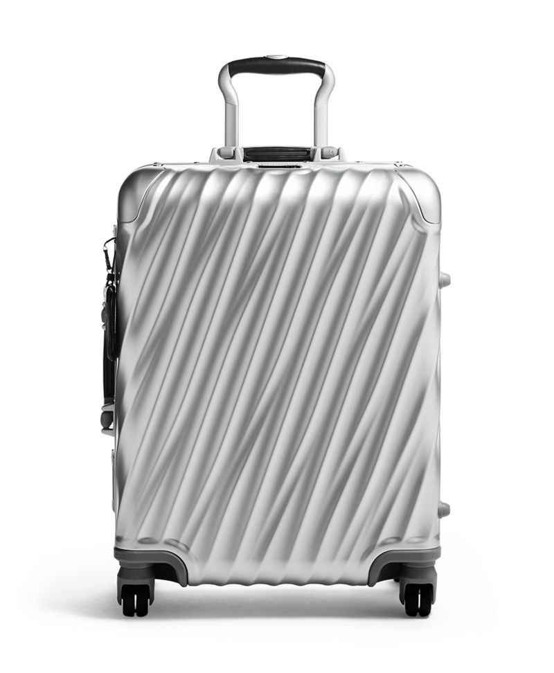 Tumi International Carry-on Aluminum Suitcase - Silver DIG2KEvk