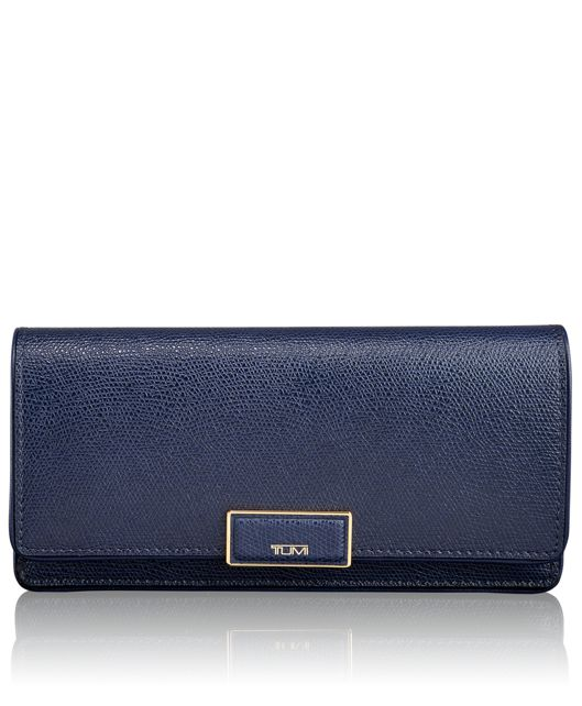 Envelope Wallet in Moroccan Blue