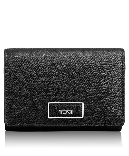 Tri-Fold Wallet in Black