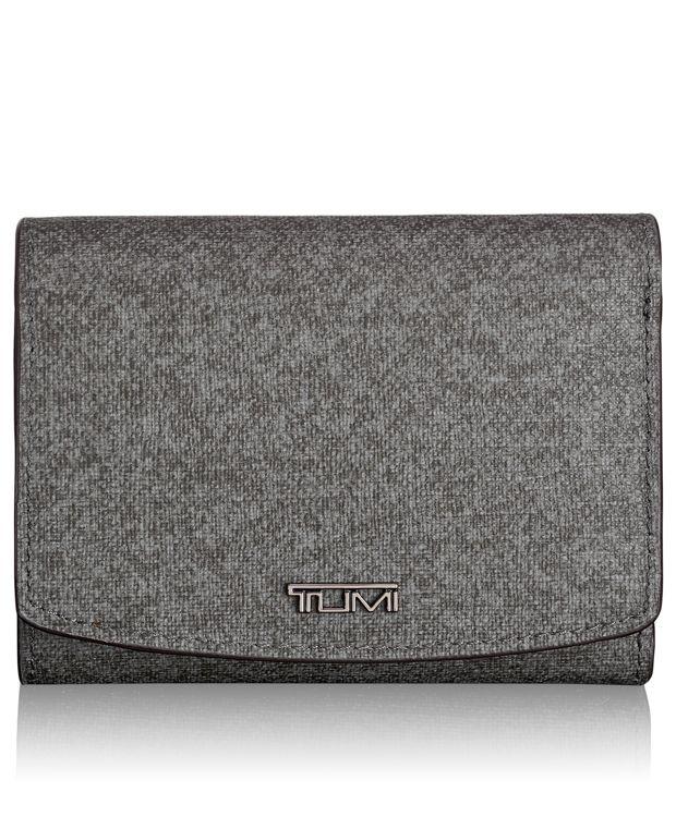 Tri-Fold Wallet in Earl Grey