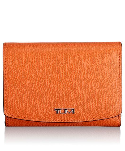 Tri-Fold Wallet in Orange