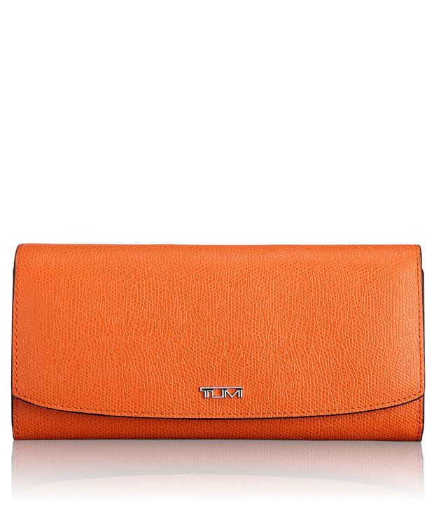 Envelope Wallet in Orange